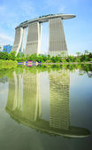 Marina Bay Sands Resort — Stok fotoğraf