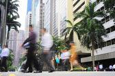 Singapore street — Stock Photo