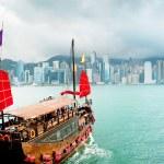 Sailing in Hong Kong — Stock Photo #26759441