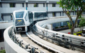 Changi Airport Skytrain — Stock Photo