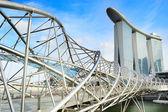 Singapore landmarks — Stock Photo