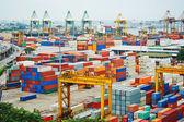 Port of Singapore — Stock Photo