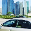 Singapore traffic — Stock Photo
