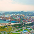 Stock Photo: Singapore's port