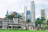Singapore Parliament — Stock Photo