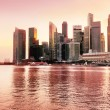 Sunset view of Singapore — Stock Photo #29426121