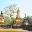 Si Satchanalai historical park — Stock Photo