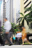 Singapore business people — Stock Photo