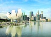 современный сингапур — Стоковое фото
