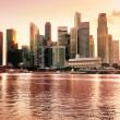 Singapore downtown view — Stock Photo