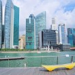 Singapore embankment — Stock Photo