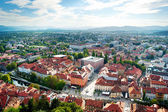 Ljubljana stadsgezicht — Stockfoto