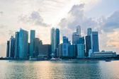 Singapore business cener — Stok fotoğraf