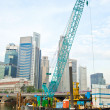 Singapore works — Stock Photo