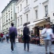 Bratislava downtown — Stock Photo