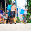 Singapore rush hour — Stock Photo