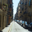 Sreet in old quarter of Barcelona — Stock Photo #34952305