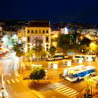 Cannes at night — Stockfoto