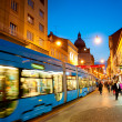 Zagreb street — Stock Photo