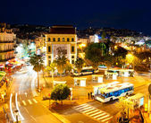 Cannes at night — Foto de Stock