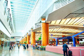 Airport interior, Singapore — Stock Photo