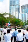 Singapore businessmen — Stock Photo