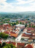 Cidade de ljubljana — Foto Stock