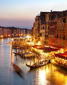 Grand canale, venedik — Stok fotoğraf