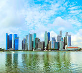 Singapore downtown view — Foto Stock