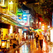 Boat Quay nightlife — Stock Photo