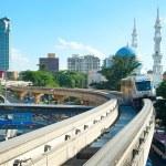 Kuala Lumpur monorail — Stock Photo #36776643