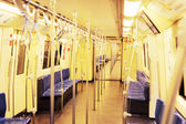 Metro train — Stock Photo
