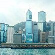 Hong Kong business center — Stock Photo