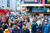 Hong Kong shopping street — Foto de Stock