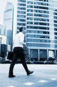Singapore businessman — Stock Photo