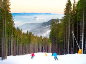Bukovel ski resort — Stockfoto