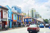 Indian quarter in Singapore — Stock Photo