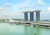 Singapore quayside — Stock Photo
