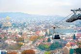 Funivia di tbilisi — Foto Stock