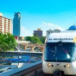 Monorail train in Kuala Lumpur — Stock Photo #39401729