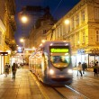 Zagreb old town at night — Stock Photo