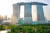 Marina Bay Sands resort — Stockfoto