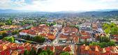 View of Ljubljana city — Stock Photo