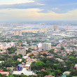 Metro Cebu at sunset — Stock Photo