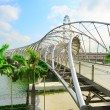 Helix Bridge in Singapore — Stock Photo #41226835