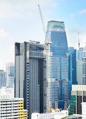 Singapur i̇nşaat — Stok fotoğraf