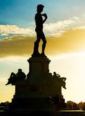 Posąg dawida — Zdjęcie stockowe