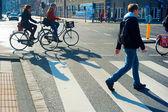 阿姆斯特丹街 — 图库照片