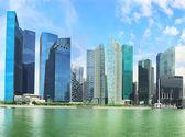 Singapore business center — Stock Photo