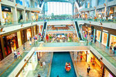 Shopping mall in Marina Bay — Stock Photo